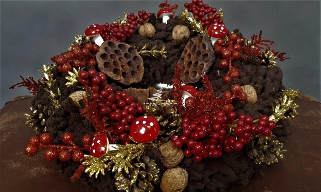 Nowoczesne wianki bożonarodzeniowe-sklep